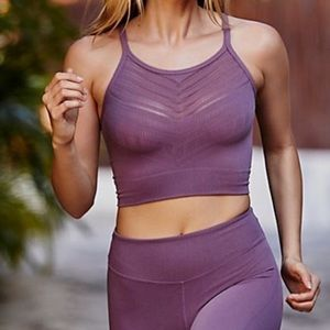 NEW Free People Movement Econyl Work Out Crop Top